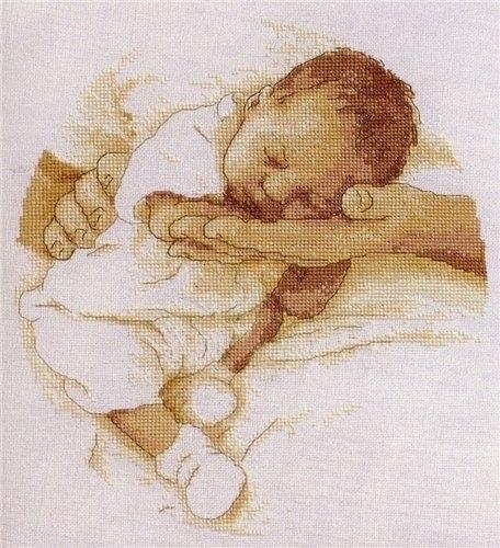 Хочу вышить новорожденного