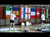 Ivana Claire snatch set 24 kg IUKL European cup zagreb 2013