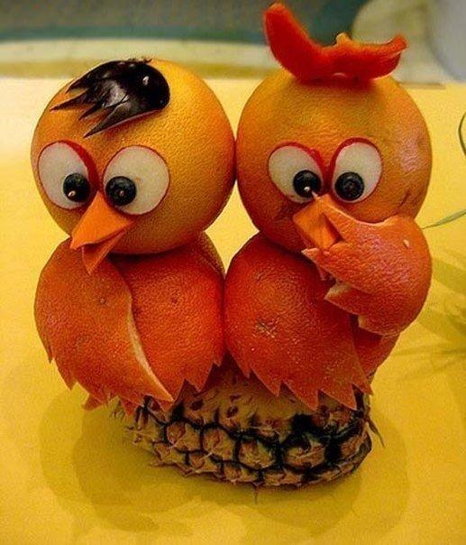 Поделка фруктов