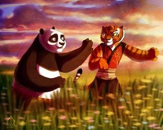 Кунг фу панда секс тигрица и тай лунг