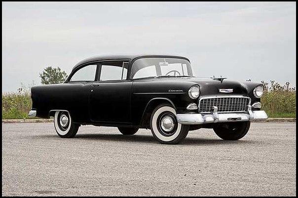 """""""ТРОИЦА ОТ ШЕВИ"""" – 1955 Chevrolet модель 150"""
