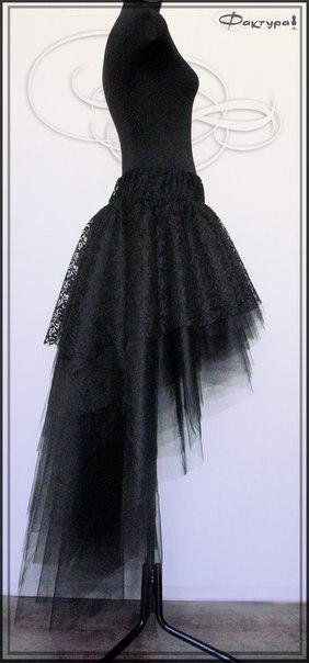 Как сделать из длинной юбки короткое платье