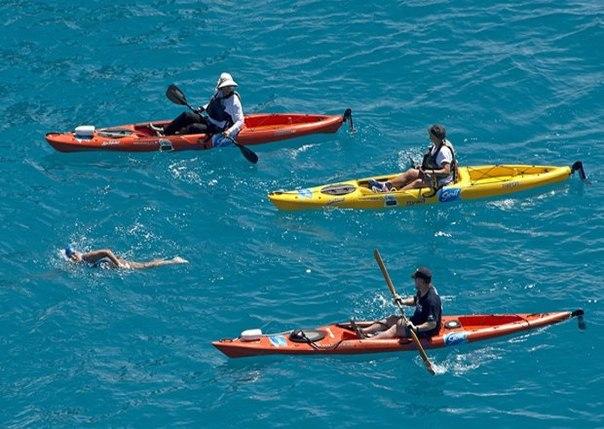 64-летняя американка переплыла Флоридский залив, разделяющий Соединенные штаты и Кубу —