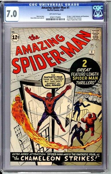 Американец продал первую копию комикса «Удивительный Человек-паук», чтобы оплатить свадьбу дочери —