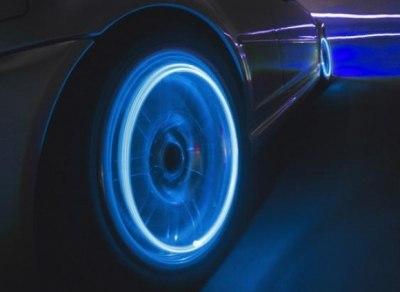 Подсветка дисков (комплект на 4 колеса) зеленое свечение.