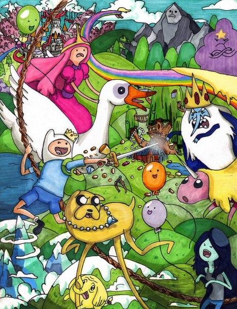 Adventure time время приключений ∞