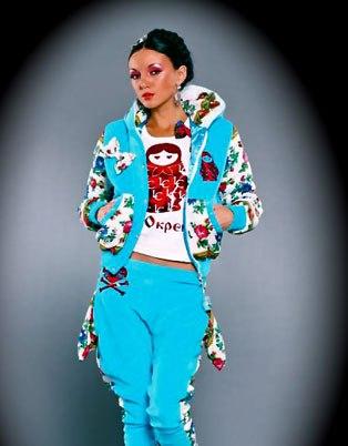 дизайнерская одежда в русском стиле.