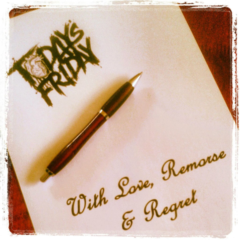 Today's Friday - With Love, Remorse and Regret [EP] (2012)