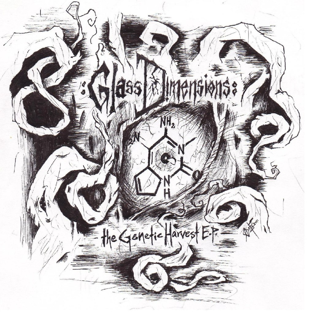 Glass Dimensions - The Genetic Harvest [EP] (2012)