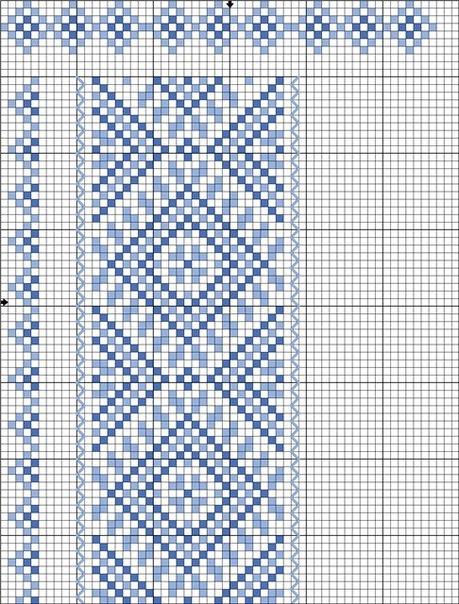 схема вышивания крестиком эмблемы зенит
