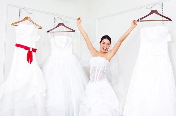 Свадебное платье эконом класса