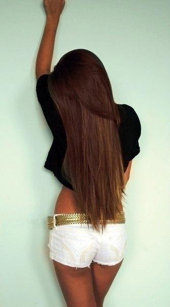 Потому что волосы ваш самый красивый