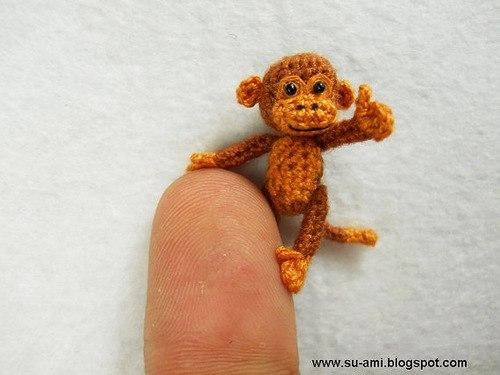 Микровязание крючком миниатюрных животных