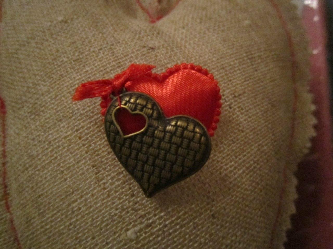 Льняная свадьба льняное сердце