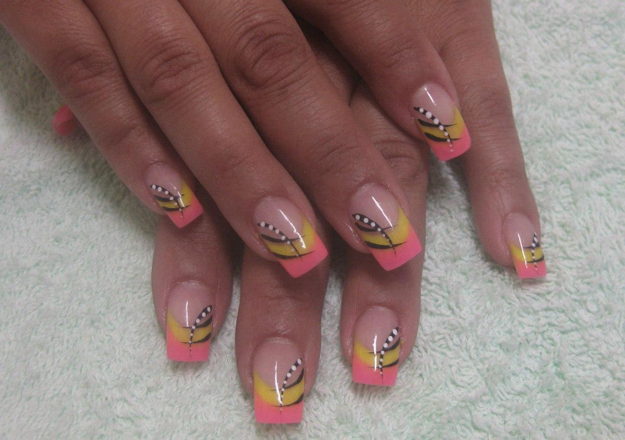 Дизайн нарощенных ногтей фото 2016