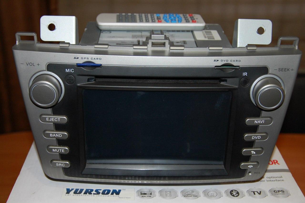 Продам мультимедийный центр для Mazda 6 DVB-T Yurson M-8821