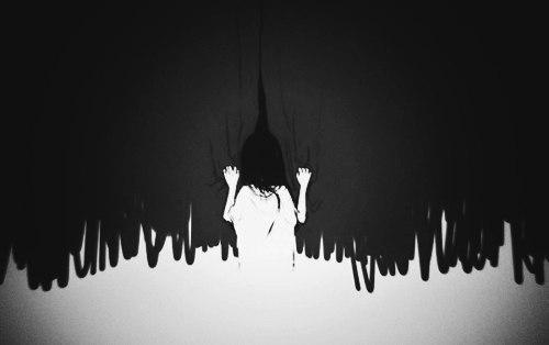 картинки аниме страх: