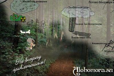 Новая мини-игра на ФРИ «Алохомора» - «Секреты и тайны Вестника Святой Варвары Шарлоттаунской. Vol.2»