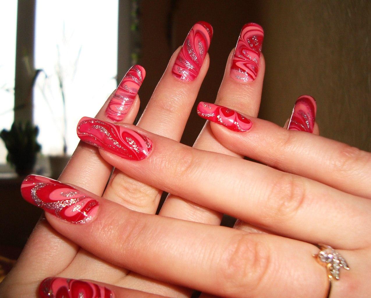 Фото ногтей из интернета