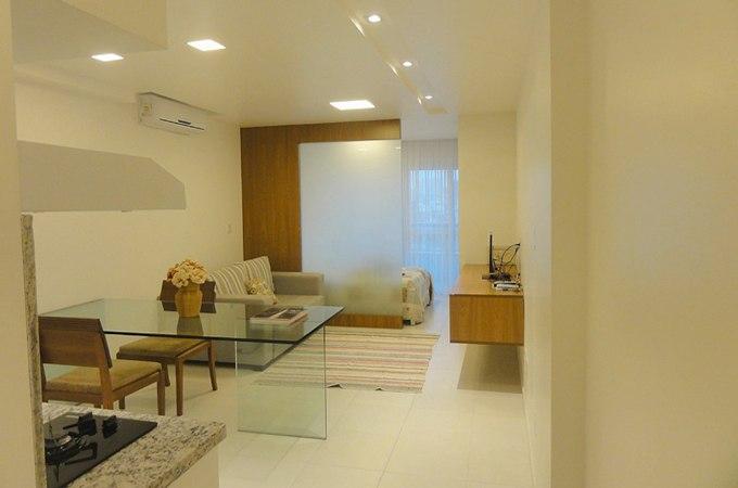 Интерьер квартиры-студии 36 м в Салвадоре / Бразилия - http://kvartirastudio.