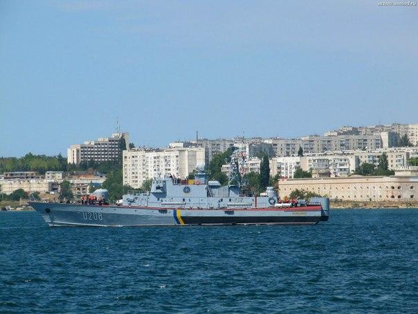 Корабль ВМФ Украины
