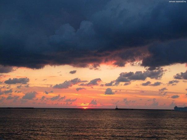Морские закаты