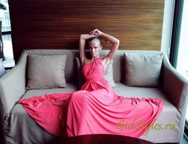 Серый и розовый цвета