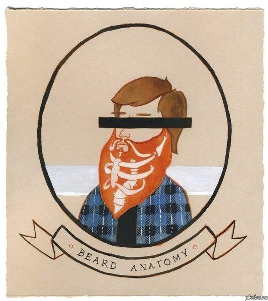 Открытка бородатому мужчине, анимированные