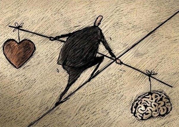 Всегда нужно держать равновесие... ...а то будет плохо
