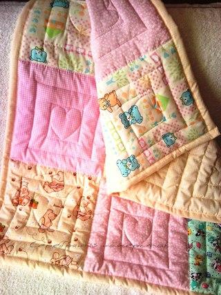 Детское одеяло сшить своими руками фото