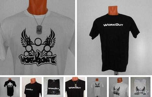 Новое поступление: футболки WorkOut