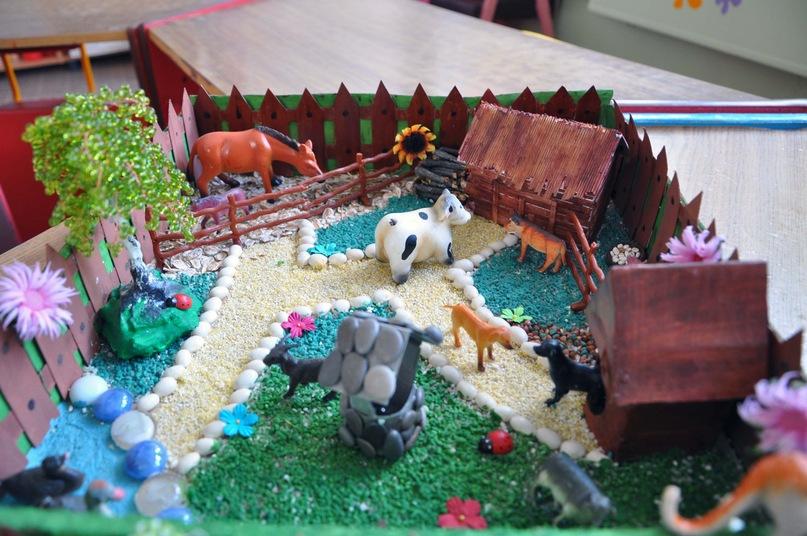Макет в детский сад своими руками 57