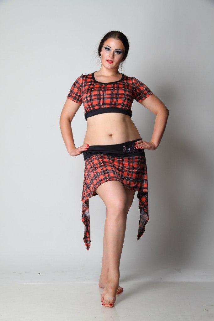конкурсное платье для латины