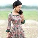 Платье 100% хлопок (ситец)<br>http://item.taobao.com/item.htm?id=12517841834<br>¥228<br>Все товары в данном альбоме находятся в Китае.<br>Цены указаны в Юанях, 1юань = 5р.<br>Ориентировочный срок доставки 1 месяц.