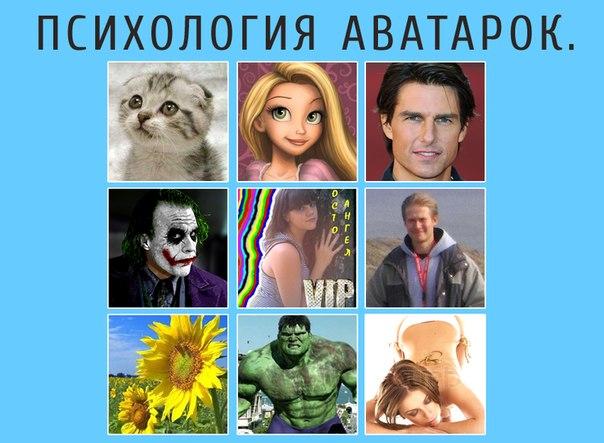 характер человека по аватарке: