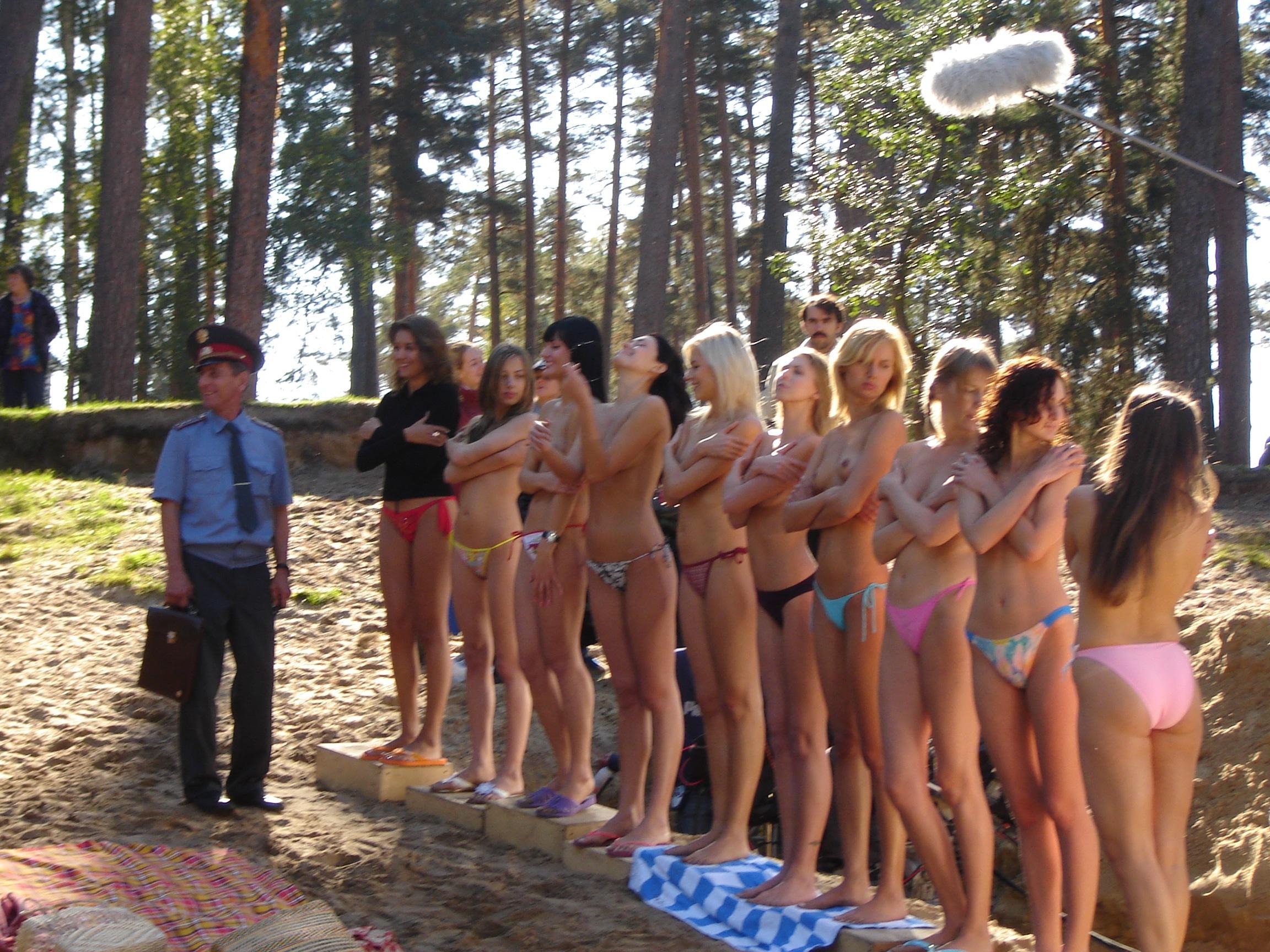 Съемки русское порно на природе 4 фотография