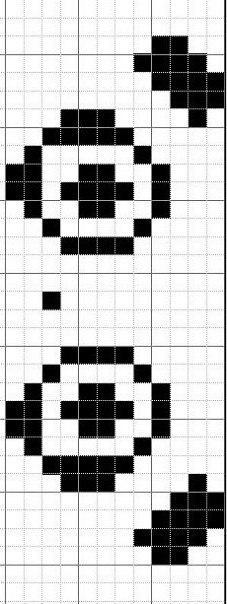 Схемы прямого плетения