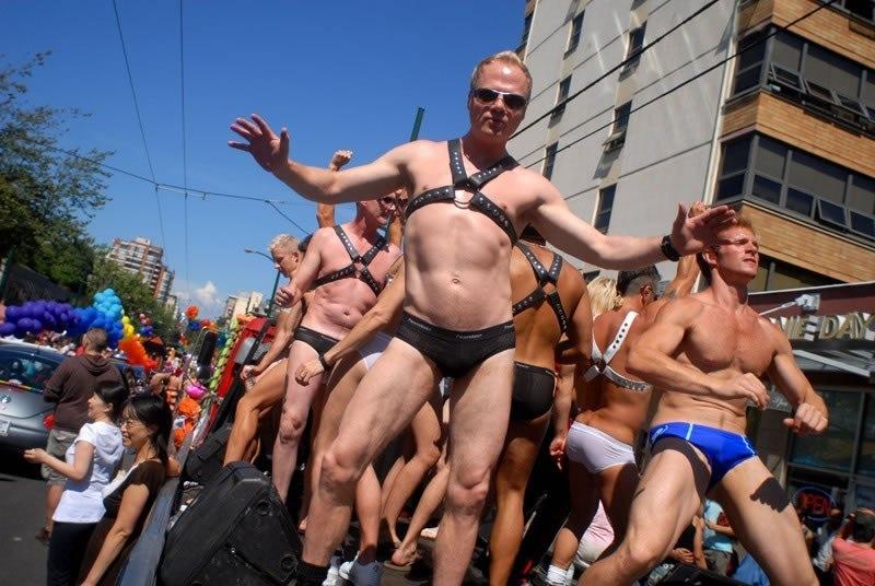 Мы вообще-то в одно время тоже хотели устроить гей-парад, но потом подумали