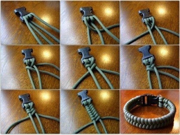 Самодельные браслеты и фенечки