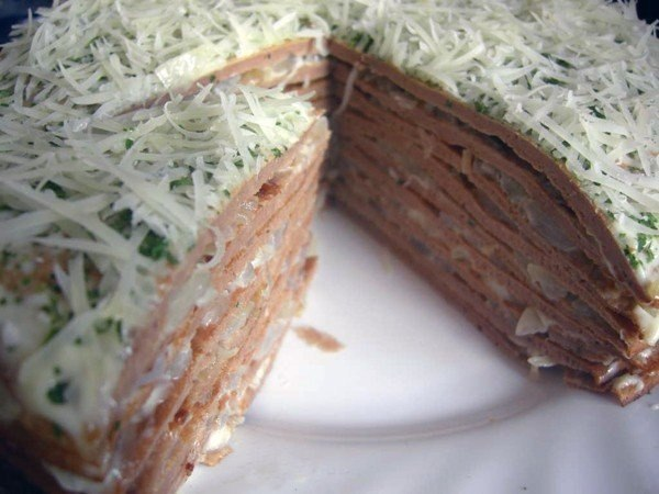 Печеночный торт самое интересное в