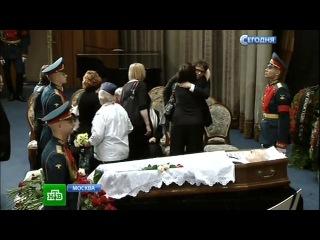 Коллеги провожали Тодоровского в последний путь, не стесняясь слез