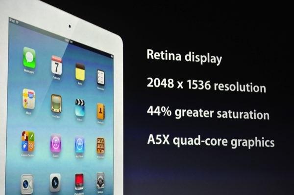 Характеристики и функции нового планшетного компьютера iPad 3