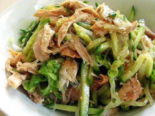 салаты с китайским салатом рецепты с фото