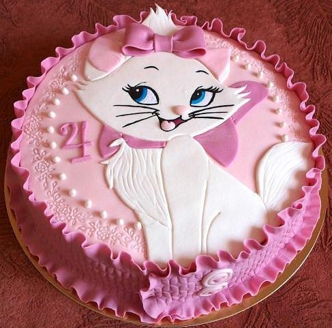 Торт на день народження дівчинки