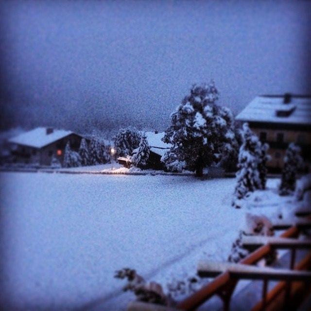 снег в рамзау