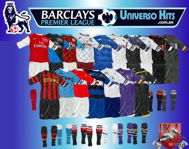 Патч добавит новые формы сезона 2011/2012 для 7 клубов Английской Премьер Л