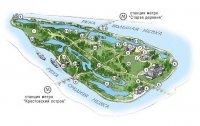 Елагин остров расположен недалеко от исторического центра Санкт-Петербурга, в дельте Невы (между Большой Невкой и...