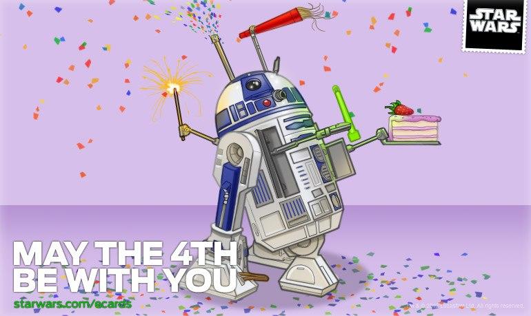 Поздравления с днем рождения от звёздных войн 498