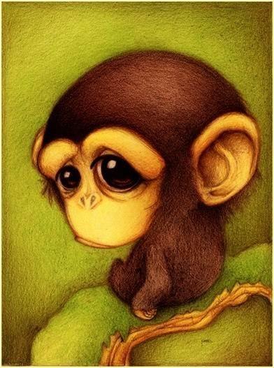 Милые рисунки животных отFabo., Глазастые пушистые комочки— Фото № 1