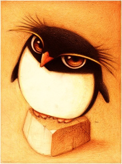 Милые рисунки животных отFabo., Глазастые пушистые комочки— Фото № 7